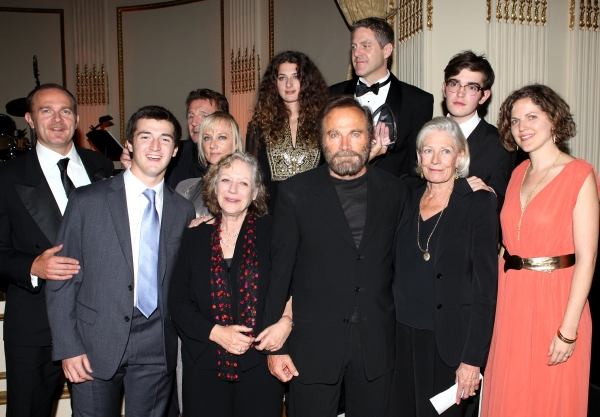 Vanessa Redgrave, Liam Neeson, Joely Richardson, Carlo Gabriel Nero,Daisy Bevan, Franco Nero, Kika Markham, Annabel Clark & Family at American Theatre Wing 2012 Gala Honors the Redgrave Family