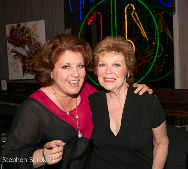 Klea Blackhurst & Anita Gillette at Anita Gillette Plays BROADWAY AT BIRDLAND