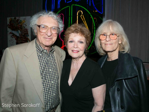 Sheldon Harnick, Anita Gillette, Margery Grey at Anita Gillette Plays BROADWAY AT BIRDLAND