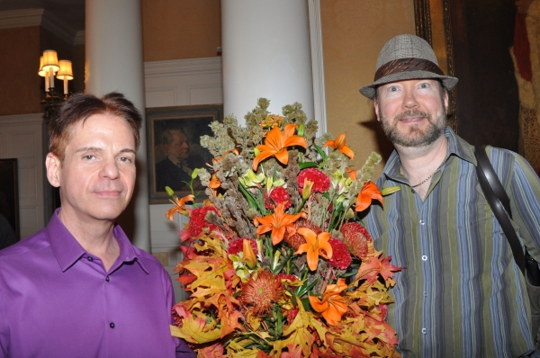 Flora Culture Owner and Designer-Robb Moss with Paul Lee