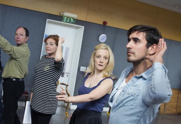 Simon Chandler, Charlotte Lucas, Rachel Finnegan & Ferdinand Kingsley Photo