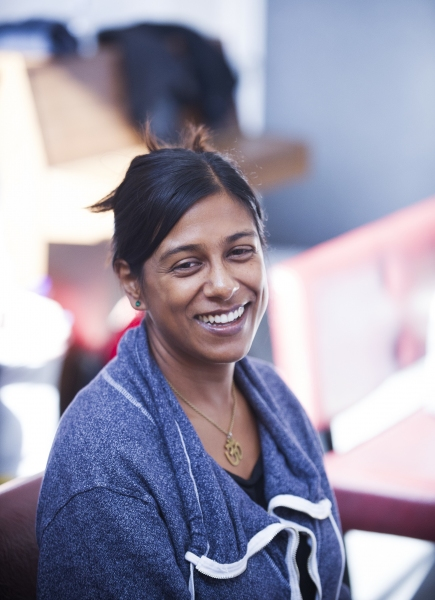 Lolita Chakrabarti, writer of Red Velvet
