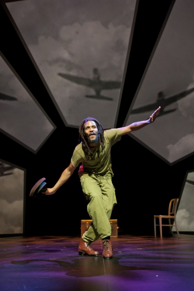Omar Edwards as the Tap Griot