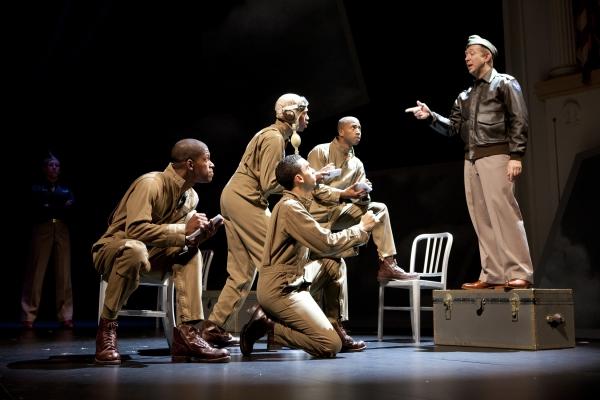 Mark Hairston, Damian Thompson, Christopher Wilson and Eric Berryman as Tuskegee Air Photo