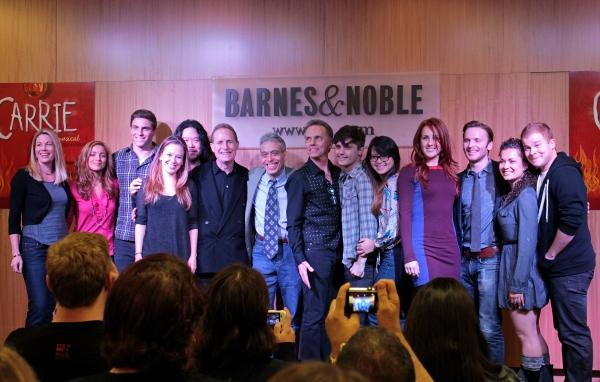 Marin Mazzie, Christy Altomare, Derek Klena, Molly Ranson, Stafford Arima, Michael G Photo