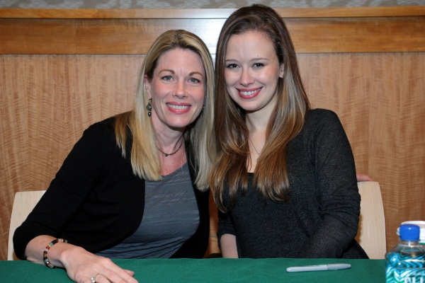 Marin Mazzie, Molly Ranson at Marin Mazzie, Molly Ranson and CARRIE Cast Perform at Barnes & Noble