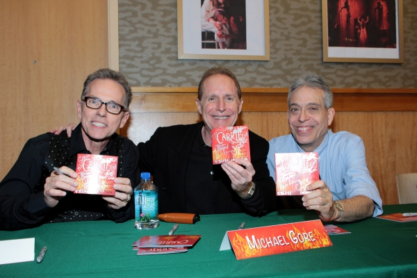 Dean Pitchford, Michael Gore, Lawrence D. Cohen Photo