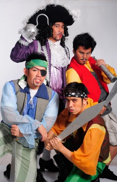 Terence Guillermo, Kendrick Ibasco, Harold Cruz. Andrew Cruz