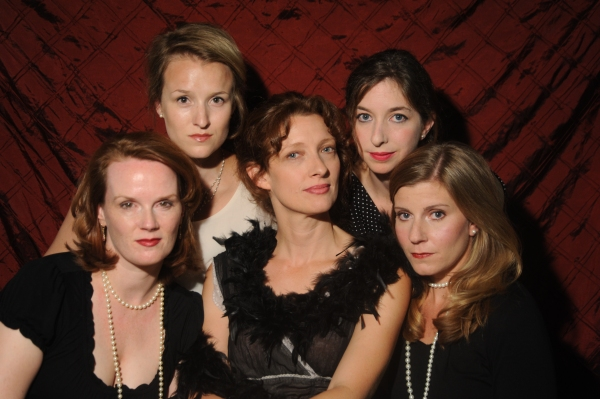 L-R: Rachel Fowler, Leah Watson, Mare Trevathan, Lauren Dennis, Barbra Andrews Photo