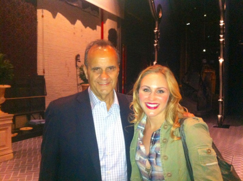 BWW Blog: Stephanie Martignetti of Broadway's NICE WORK IF YOU CAN GET IT - Cookies, Lingerie & Joe Torre!