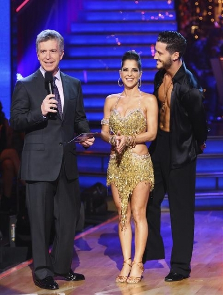 "DANCING WITH THE STARS: ALL-STARS: THE RESULTS SHOW - ""Episode 1501A"" - The live two-hour season premiere of ""Dancing with the Stars: All-Stars: The Results Show,"" TUESDAY, SEPTEMBER 25 (8:00-10:00 p.m., ET), kicked off with live interviews with Tom and"