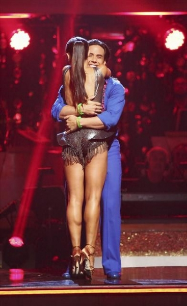 "DANCING WITH THE STARS: ALL-STARS: THE RESULTS SHOW - ""Episode 1501A"" - Couples awaited to see who would be the first couple to be eliminated during the live two-hour season premiere of ""Dancing with the Stars: All-Stars: The Results Show,"" TUESDAY, SEPT"