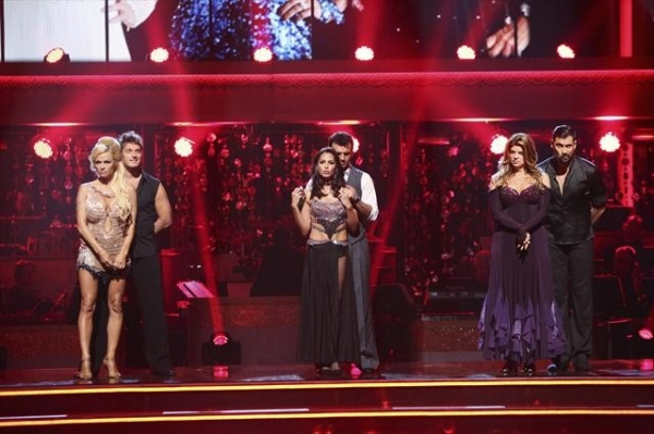 DANCING WITH THE STARS: ALL-STARS: THE RESULTS SHOW - 'Episode 1501A' - Couples awaited to see who would be the first couple to be eliminated during the live two-hour season premiere of 'Dancing with the Stars: All-Stars: The Results Show,' TUESDAY, SEPT at Dancing with the Stars First Results Show + Justin Bieber!
