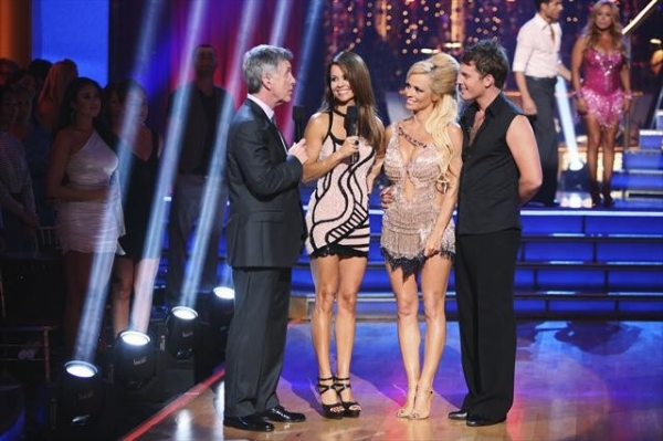 "DANCING WITH THE STARS: ALL-STARS: THE RESULTS SHOW - ""Episode 1501A"" - Pamela Anderson and Tristan MacManus became the first couple to be eliminated during the live two-hour season premiere of ""Dancing with the Stars: All-Stars: The Results Show,"" TUESD"