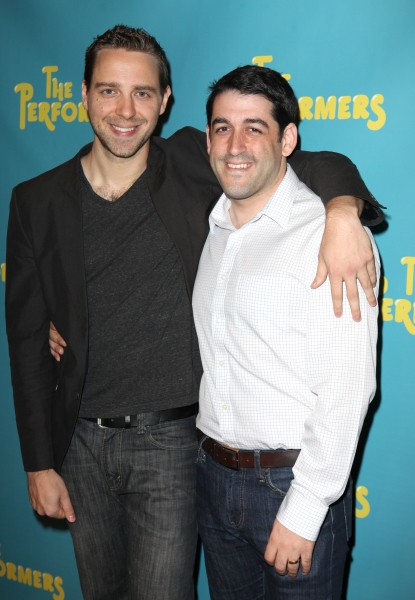 Photo Coverage: Alicia Silverstone, Cheyenne Jackson and Cast of THE PERFORMERS Meets the Press!