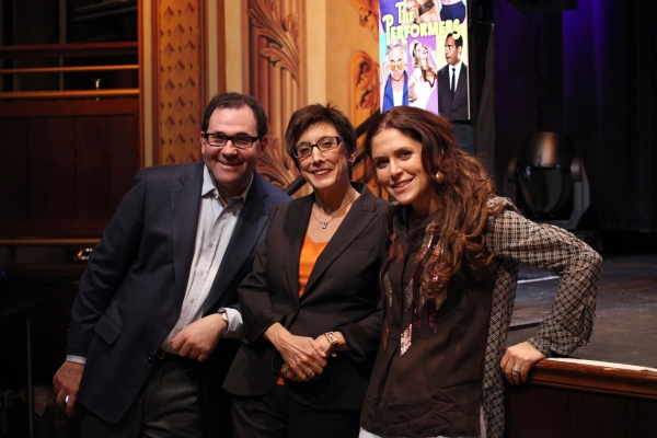 Producer Scott M. Delman, producer Robyn Goodman and producer Amanda Lipitz