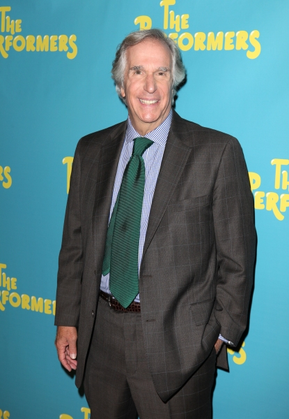 Henry Winkler  at Alicia Silverstone, Cheyenne Jackson and Cast of THE PERFORMERS Meets the Press!
