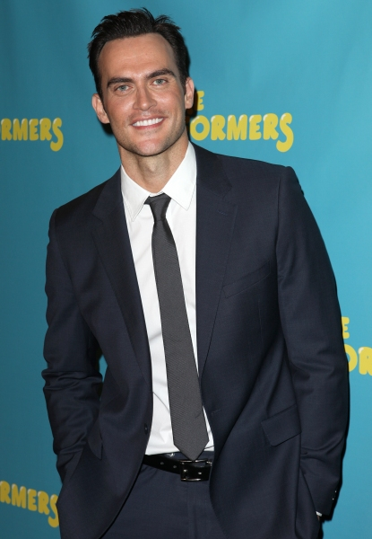 Cheyenne Jackson  at Alicia Silverstone, Cheyenne Jackson and Cast of THE PERFORMERS Meets the Press!