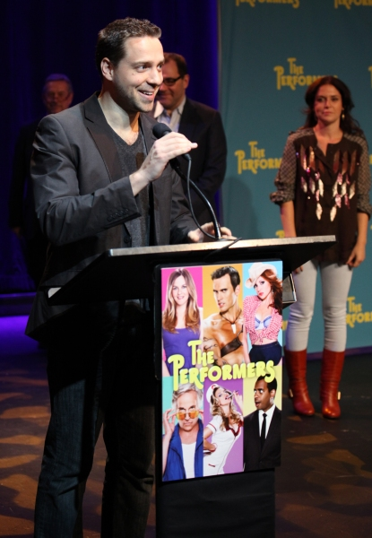 Playwright David West Read at Alicia Silverstone, Cheyenne Jackson and Cast of THE PERFORMERS Meets the Press!