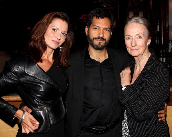 Florencia Lozano, Alfredo Narciso & Kathleen Chalfant  Photo