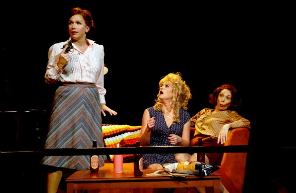 Holly Davis, Shayla Osborn, and Dee Hoty at First Look at George Dvorsky, Dee Hoty, Holly Davis and More in NSMT's 9 TO 5