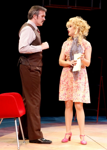 Photo Flash: First Look at George Dvorsky, Dee Hoty, Holly Davis and More in NSMT's 9 TO 5