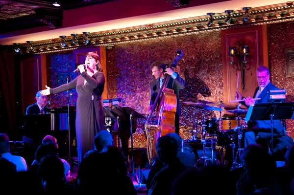 Ted Rosenthal, Ann Hampton Callaway, Martin Wind, and Tim Horner