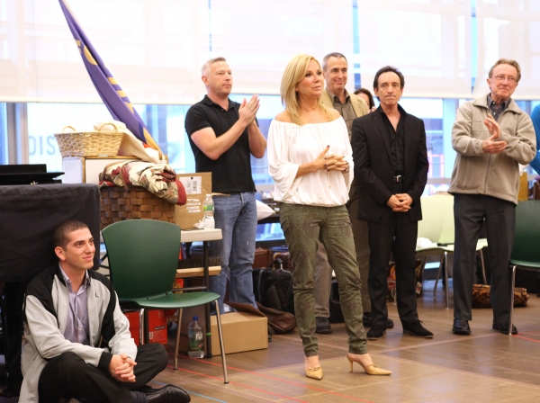 Photo Coverage: In Rehearsal with the Cast of SCANDALOUS!
