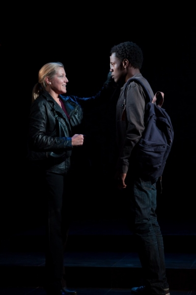 Mary McCann, Stephen Tyrone Williams at First Look at Atlantic Theater Company's HARPER REGAN