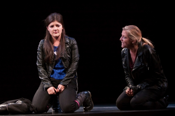 Madeleine Martin, Mary McCann at First Look at Atlantic Theater Company's HARPER REGAN