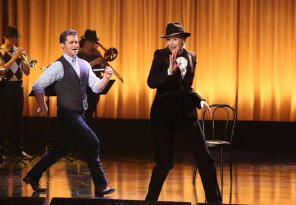 Matthew Morrison, Jane Lynch at Photos and Audio: Tonight on GLEE- ANNIE and More!!