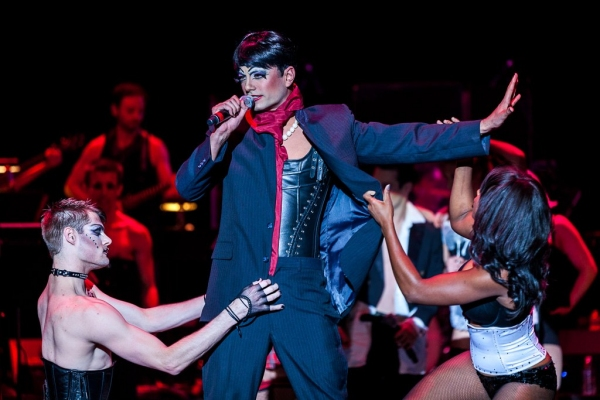Luis Augusto Figueroa at Inside WICKED Touring Cast's THE WICKED ROCKY HORROR SHOW