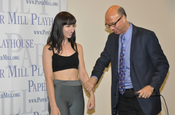 Nikka Graff Lanzarone and Richard Ridge at Paper Mill Playhouse's A CHORUS LINE Cast Meets the Press!