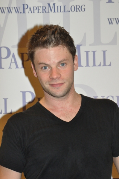 Brian Letendre at Paper Mill Playhouse's A CHORUS LINE Cast Meets the Press!