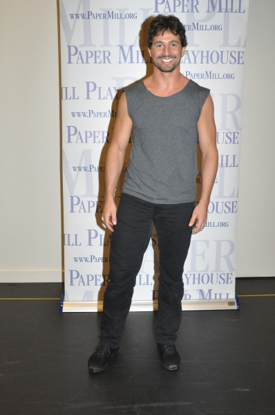 Martin Harvey at Paper Mill Playhouse's A CHORUS LINE Cast Meets the Press!
