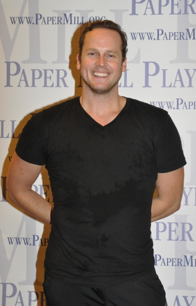 Kyle Vaughn at Paper Mill Playhouse's A CHORUS LINE Cast Meets the Press!