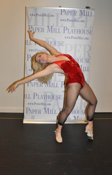 Jessica Lee Goldyn at Paper Mill Playhouse's A CHORUS LINE Cast Meets the Press!
