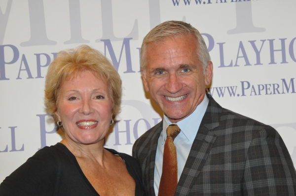 Mitzi Hamilton and Mark S. Hoebee at Paper Mill Playhouse's A CHORUS LINE Cast Meets the Press!