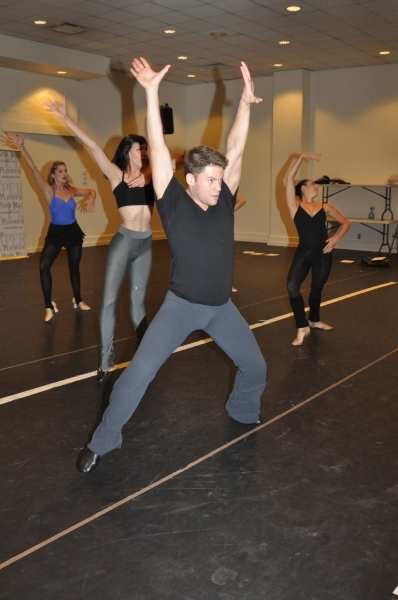 Chris Klink at Paper Mill Playhouse's A CHORUS LINE Cast Meets the Press!