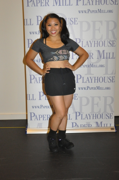 Alexzandra Sarmiento at Paper Mill Playhouse's A CHORUS LINE Cast Meets the Press!