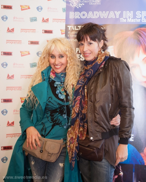 Geraldine Larrosa y Marta Ribera