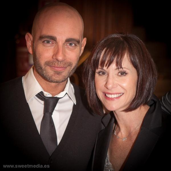 Víctor Conde y Susan Egan