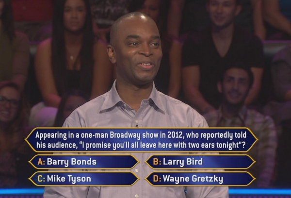B'Way Themed Question on Today's WHO WANTS TO BE A MILLIONAIRE