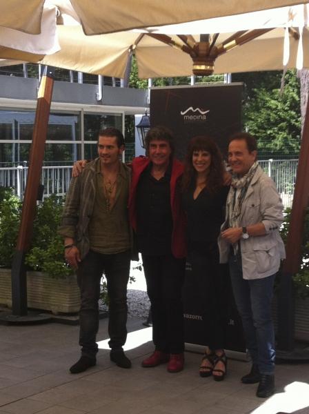 Roberto Rossetti, Stefano D'Orazio, Jacqueline Ferry, Roby Facchinetti Photo
