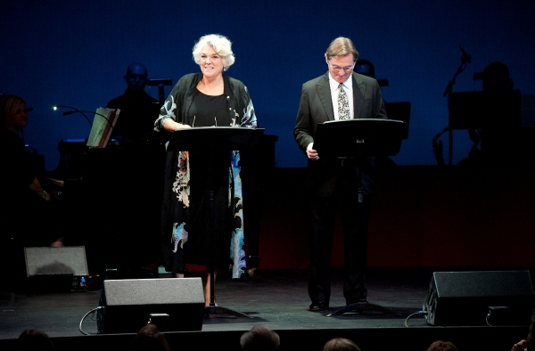 Tyne Daly and Richard Thomas, Westport Country Playhouse 2012 gala hosts at Nathan Lane, Marin Mazzie and More Honor Terrence McNally at Westport Country Playhouse