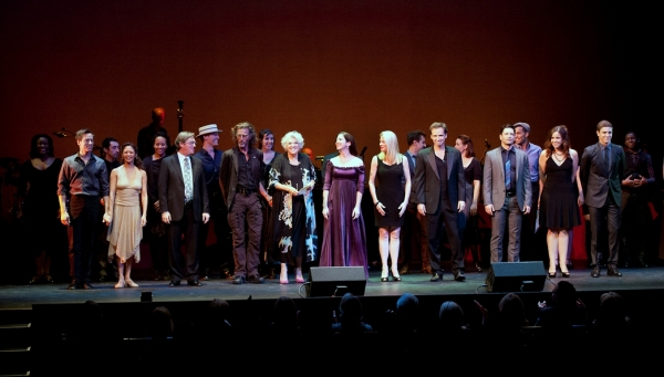 Curtain call with Kurt Froman, Kristine Bendul, Richard Thomas, John Glover, Tyne Dal Photo