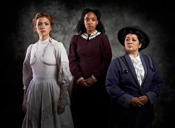 Shonna Cirone, Tia Deshazor and June Ann Baboian