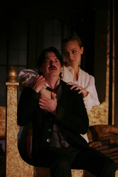 Photo Flash: First Look at Christian Gray and More in First Folio's THE MADNESS OF EDGAR ALLAN POE