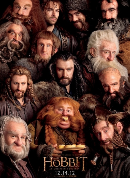 Photo Flash: New Poster for THE HOBBIT: AN UNEXPECTED JOURNEY