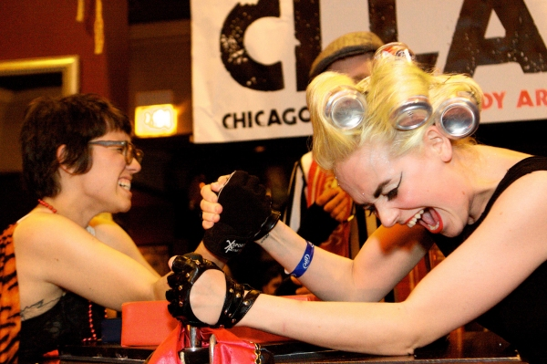 Photo Flash: Chicago League of Lady Arm Wrestlers Hosts CLLAW-O-WEEN, 10/13